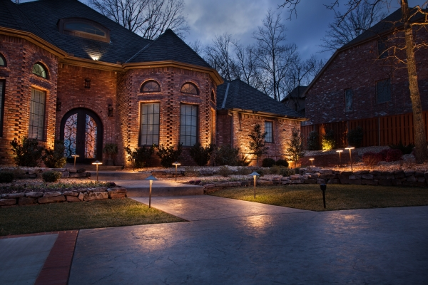 Custom Landscape Lighting The Master