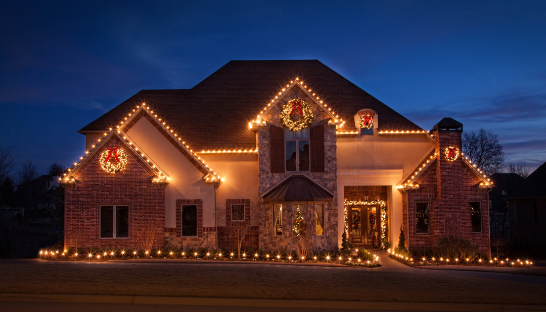 Home Christmas Lighting