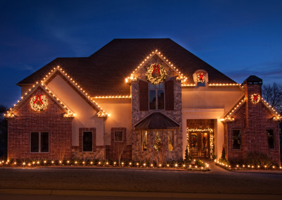 Northwest Arkansas Christmas Lights Professional Install