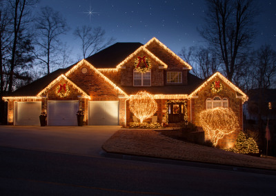 Northwest Arkansas Christmas Lights Professional Installation