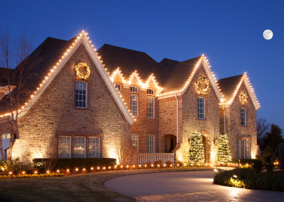 NWA Christmas Lights Professional Install