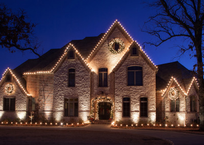 Christmas Light Installation In Northwest Arkansas