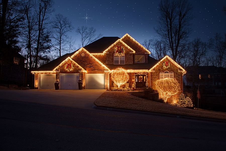 Professional Christmas Lights Northwest Arkansas
