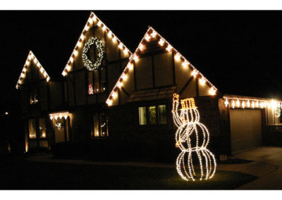 Custom Holiday Light Install