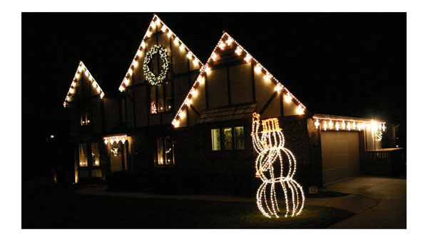 custom holiday light install - Christmas Light Installation Prices