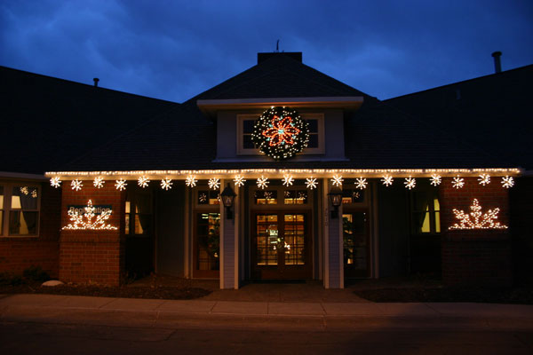 formal home holiday light install - Christmas Light Installation Prices