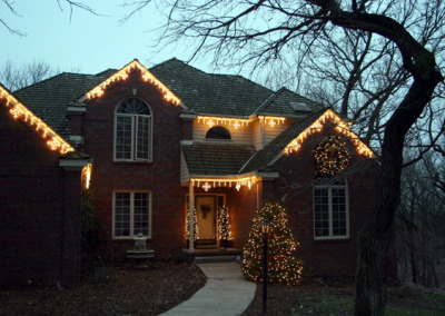 Home Holiday Light Install Northwest Arkansas