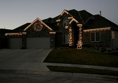Home Holiday Light nstall
