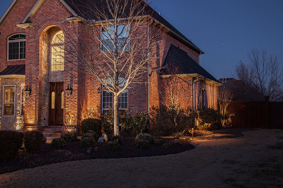 Northwest Arkansas Christmas Lighting Installation