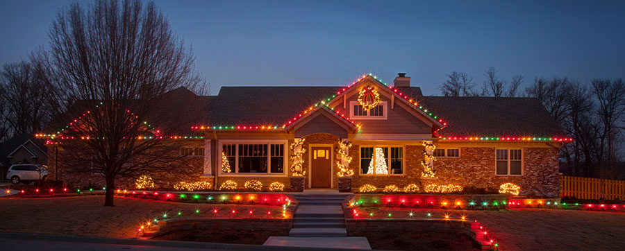 Northwest Arkansas Christmas Light Installation