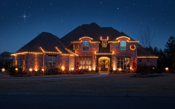 northwest arkansas christmas lights pro install - Install Christmas Lights