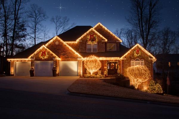 northwest arkansas christmas lights professional installation - Christmas Lighting Installation
