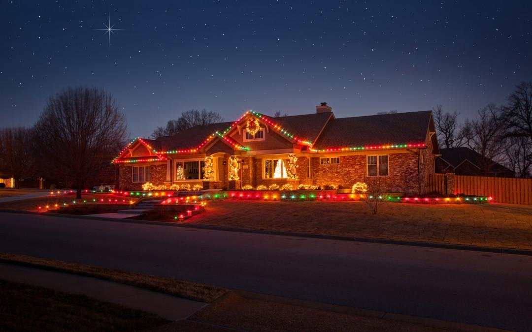 Christmas Landscape Lighting