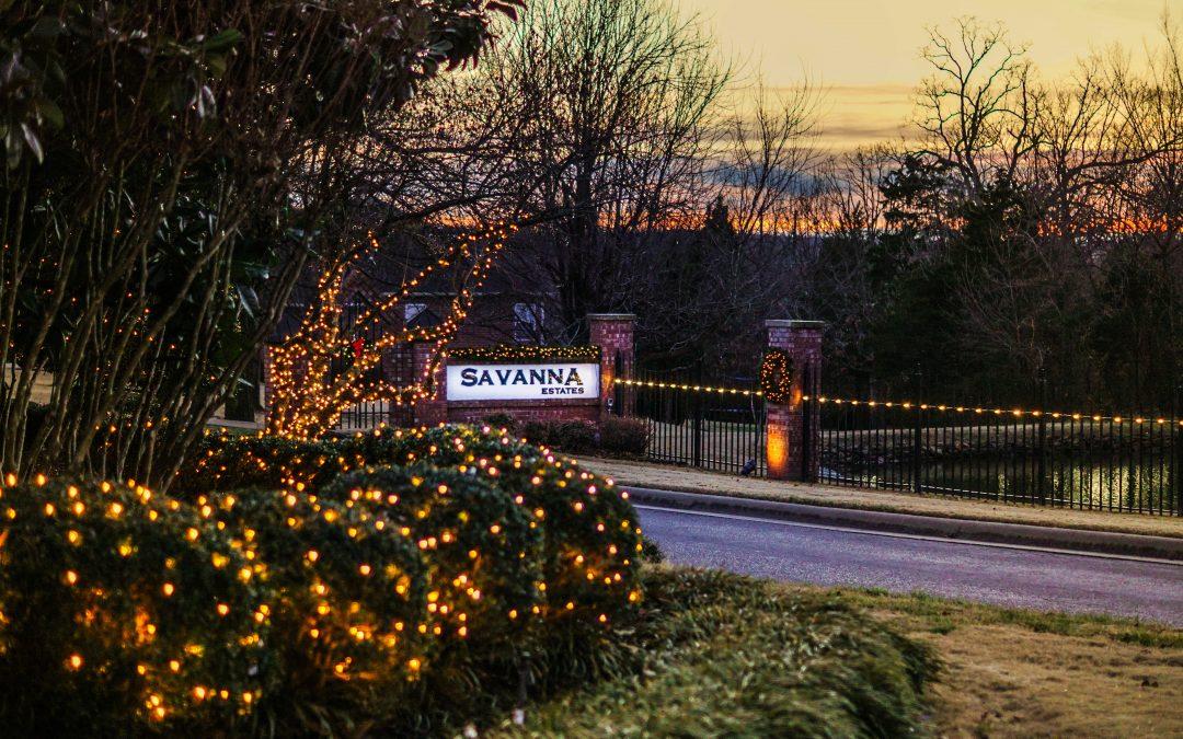 Subdivision Christmas Lighting