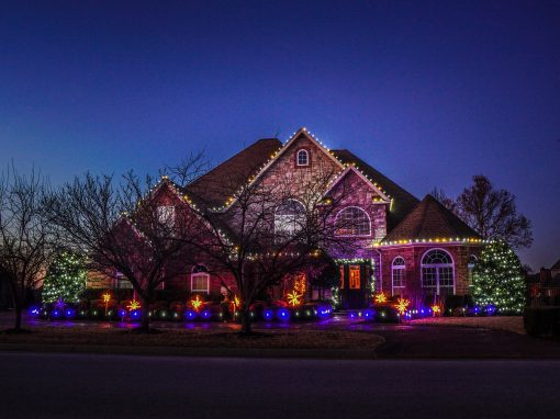 Residential Christmas Lighting