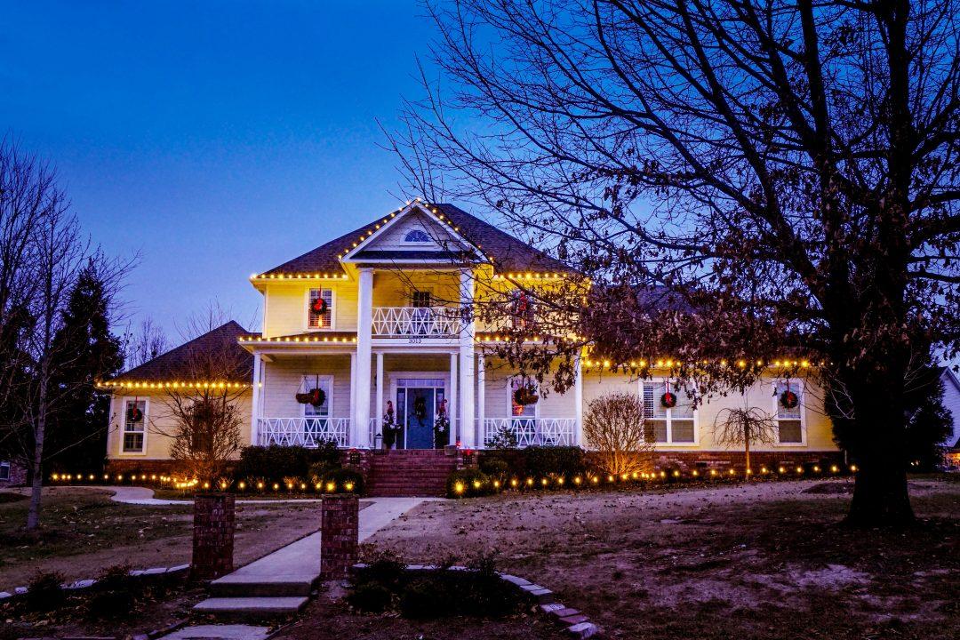 fayetteville AR christmas lights